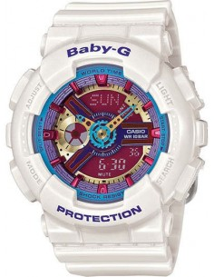 RELOJ BABY G-SHOCK BLANCO COLOR