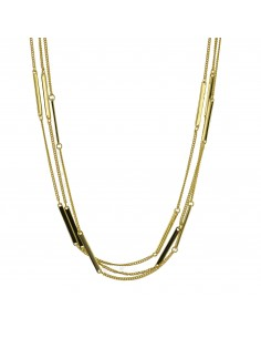COLLAR LUXENTER METAL DORADO