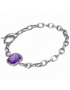 PULSERA TIME FORCE PLATA
