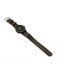 RELOJ MR.BOHO UNISEX NAILON NEGRO