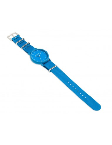 RELOJ MR.BOHO UNISEX NAILON AZUL