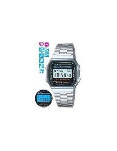 RELOJ CASIO DIGITAL PLATEADO