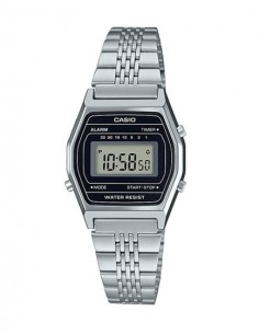 RELOJ CASIO DIGITAL METAL ESF.NEG