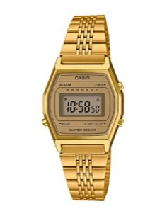 RELOJ CASIO DIGITAL METAL DOR.ESF.DOR